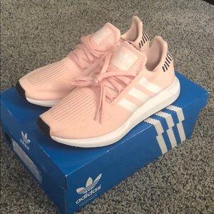 Pink Adidas Swift Runs